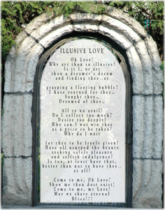 Accompanying Image- Illusive Love Title Poem